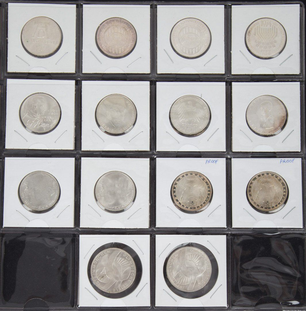 [World] German Silver Commemoratives