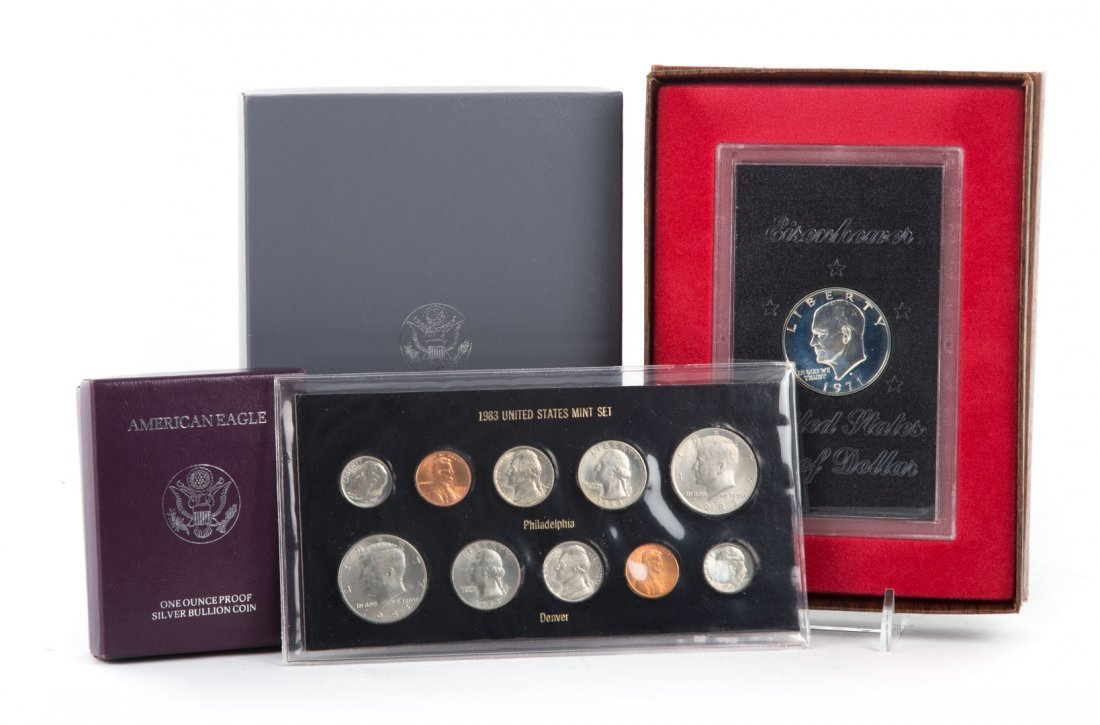 [US] 1991 Prestige Set and Proof Silver Eagle Plus