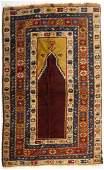 Antique Turkish prayer rug, approx. 3.6 x 6