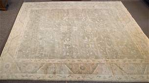 Indo Oushak carpet, approx. 12 x 15.10