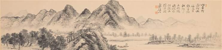 Chinese School gouache