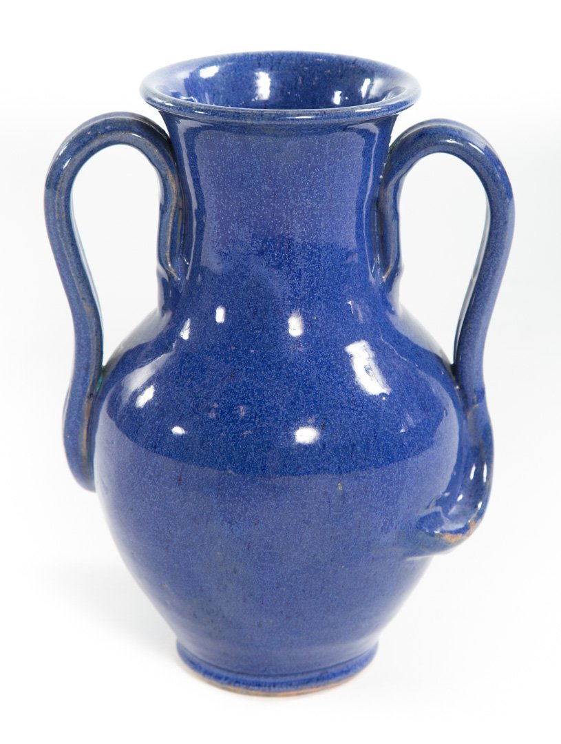 Royal Crown Pottery vase, Attr. Jack Kiser