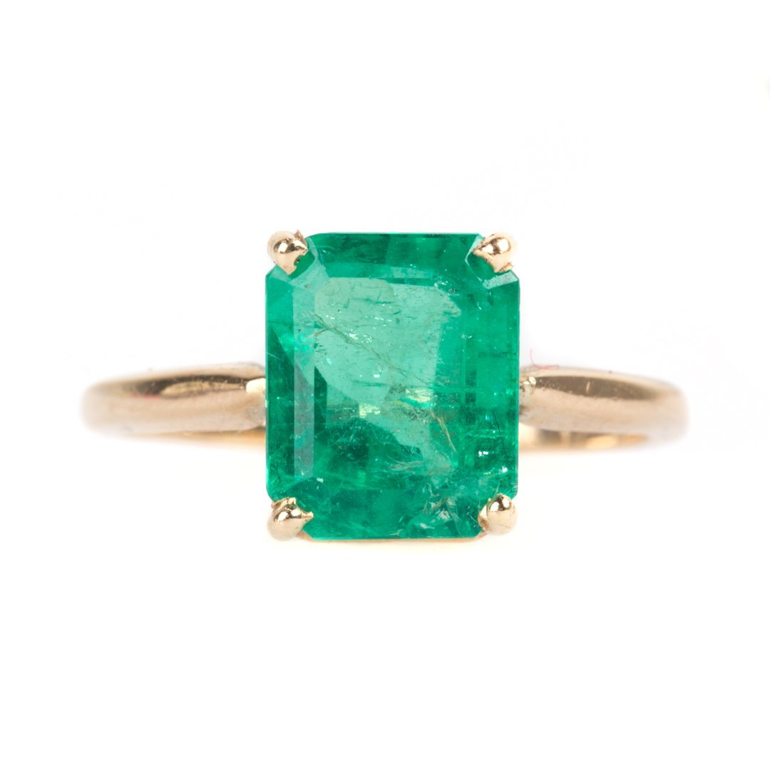 A Lady's Emerald Ring