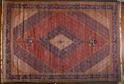 Persian Bijar carpet approx 131 x 1810
