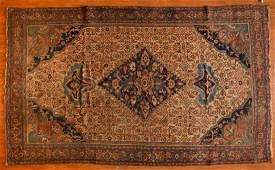 Antique Bijar rug, approx. 7.3 x 12
