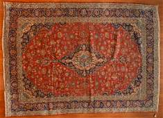 Persian Keshan carpet approx 95 x 1211