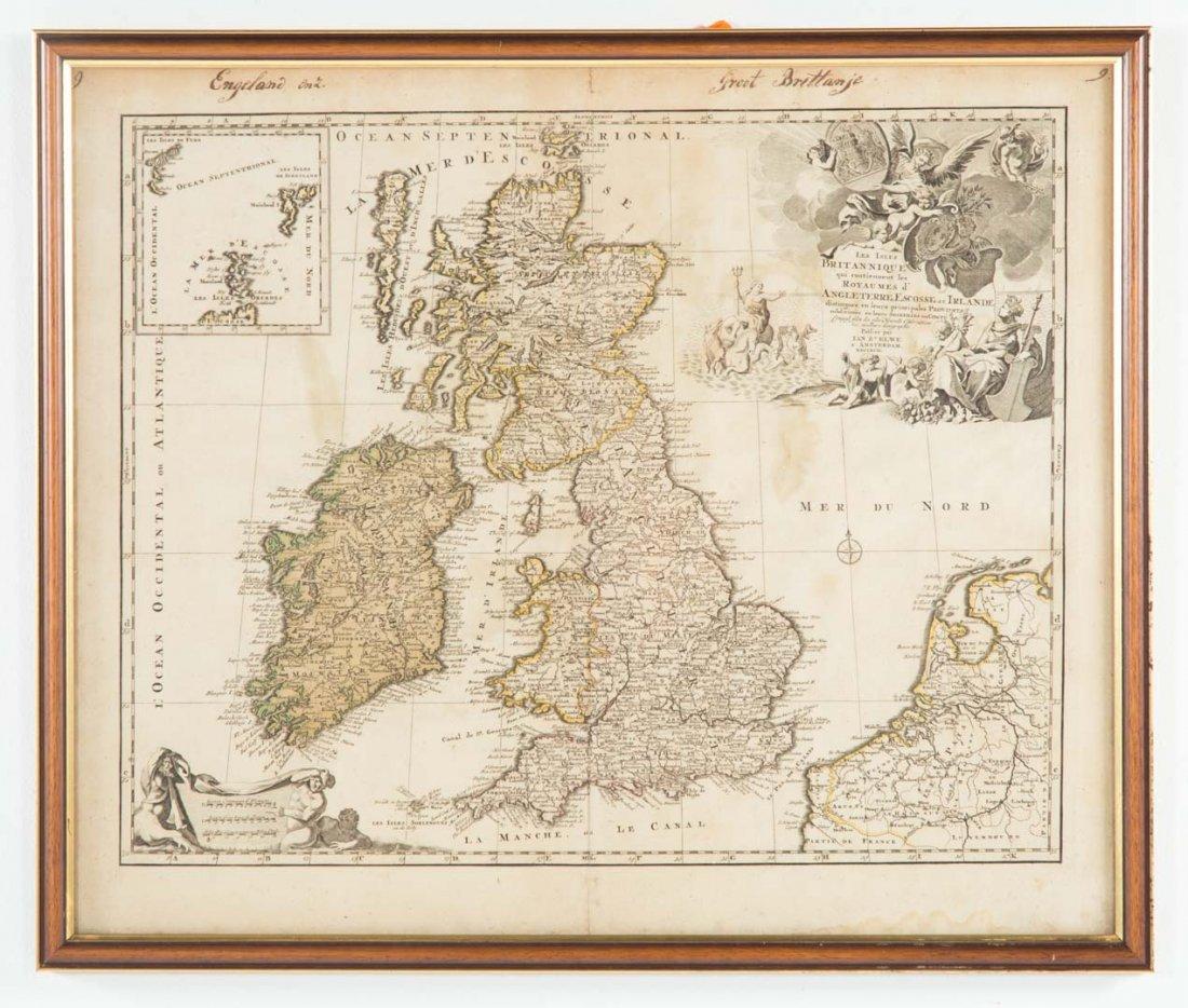 Ian Elwe, Les Isles Britainnique map