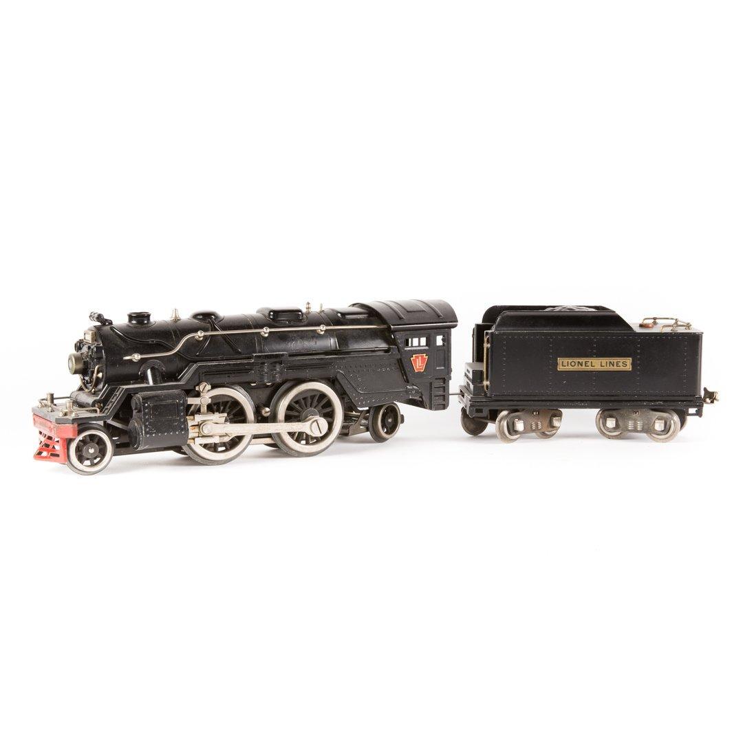 Lionel standard gauge #1835 engine with tender