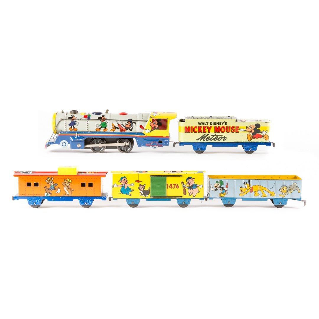 Marx Disney meteor freight train