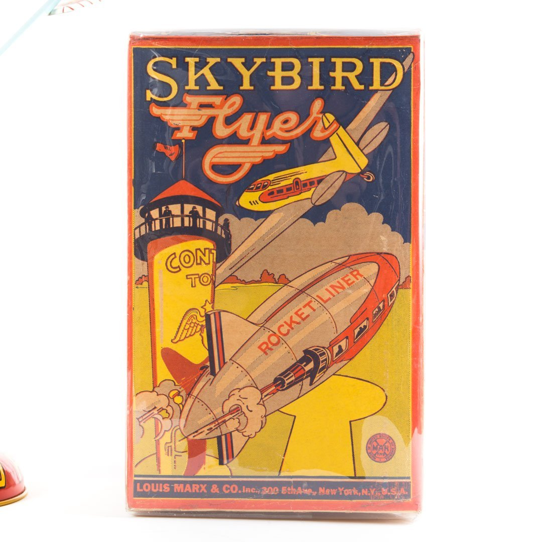 Marx Sky Bird Flyer-Tin Litho - 3