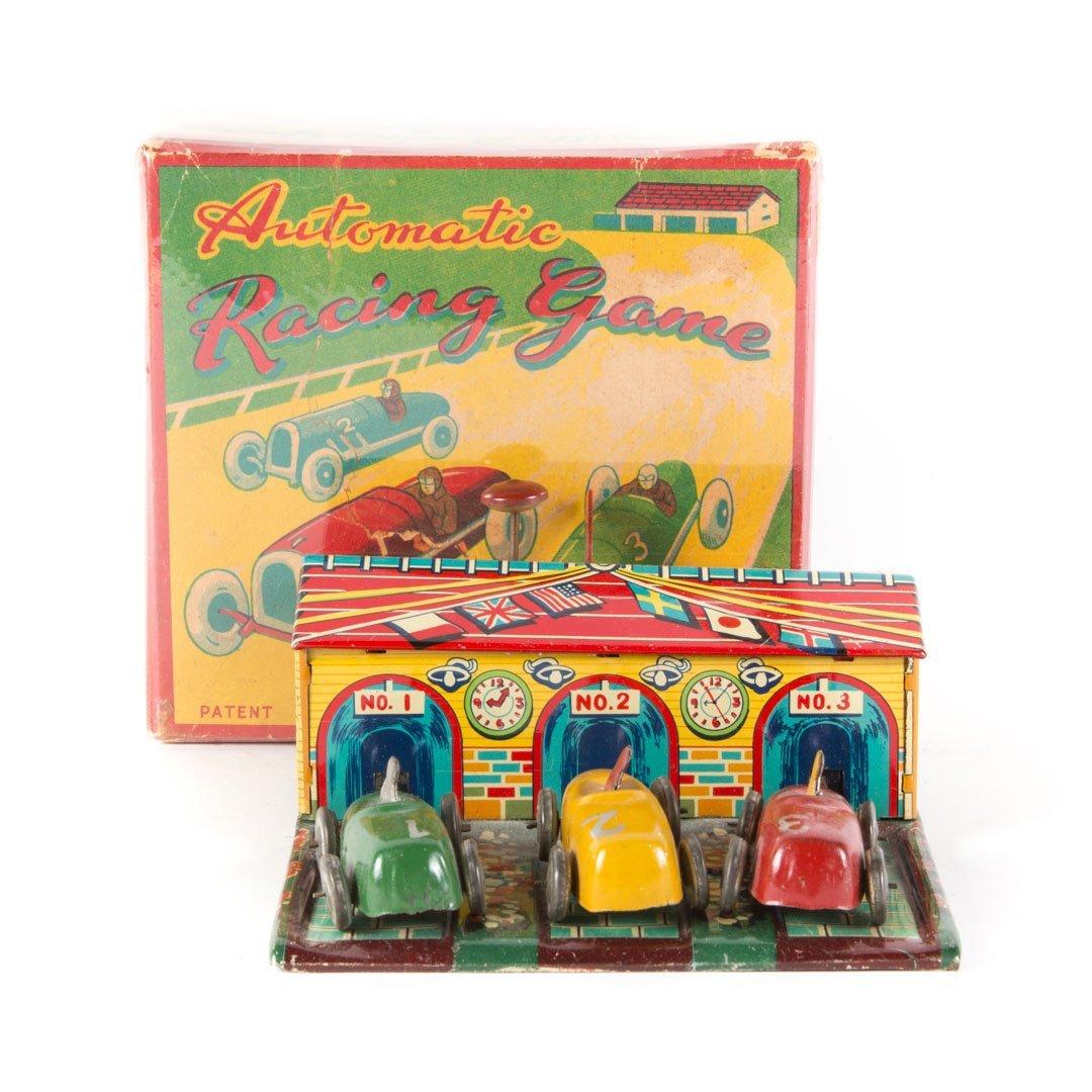 Haji Automatic Racing Game with 3 Cars