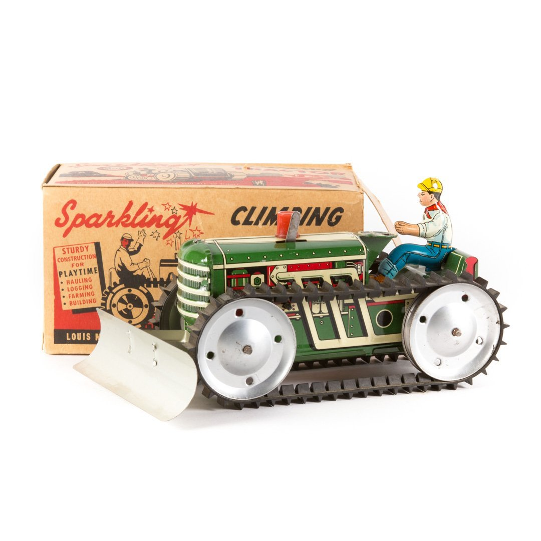 Marx Sparkling Climbing Tractor