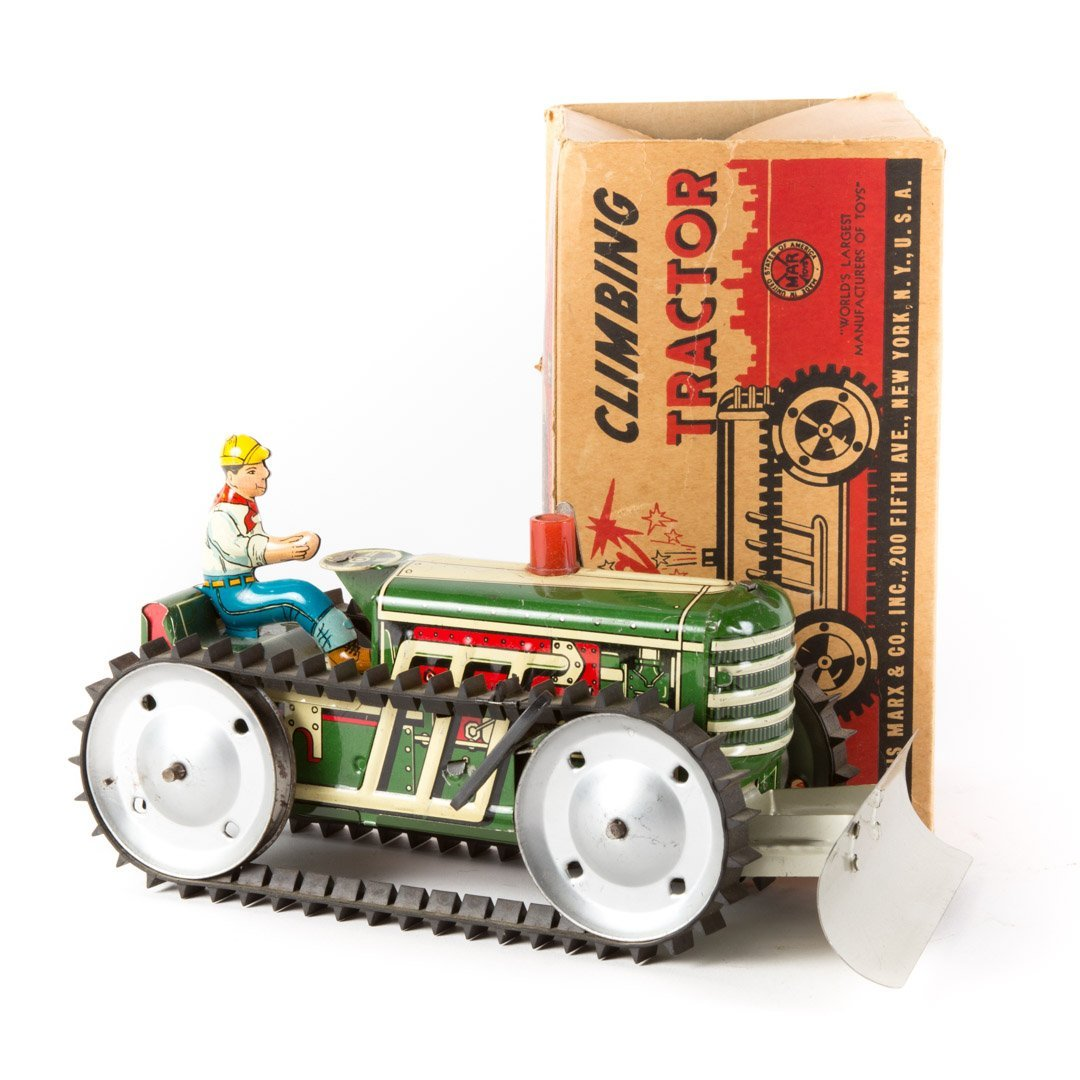 Marx Sparkling Climbing Tractor - 2