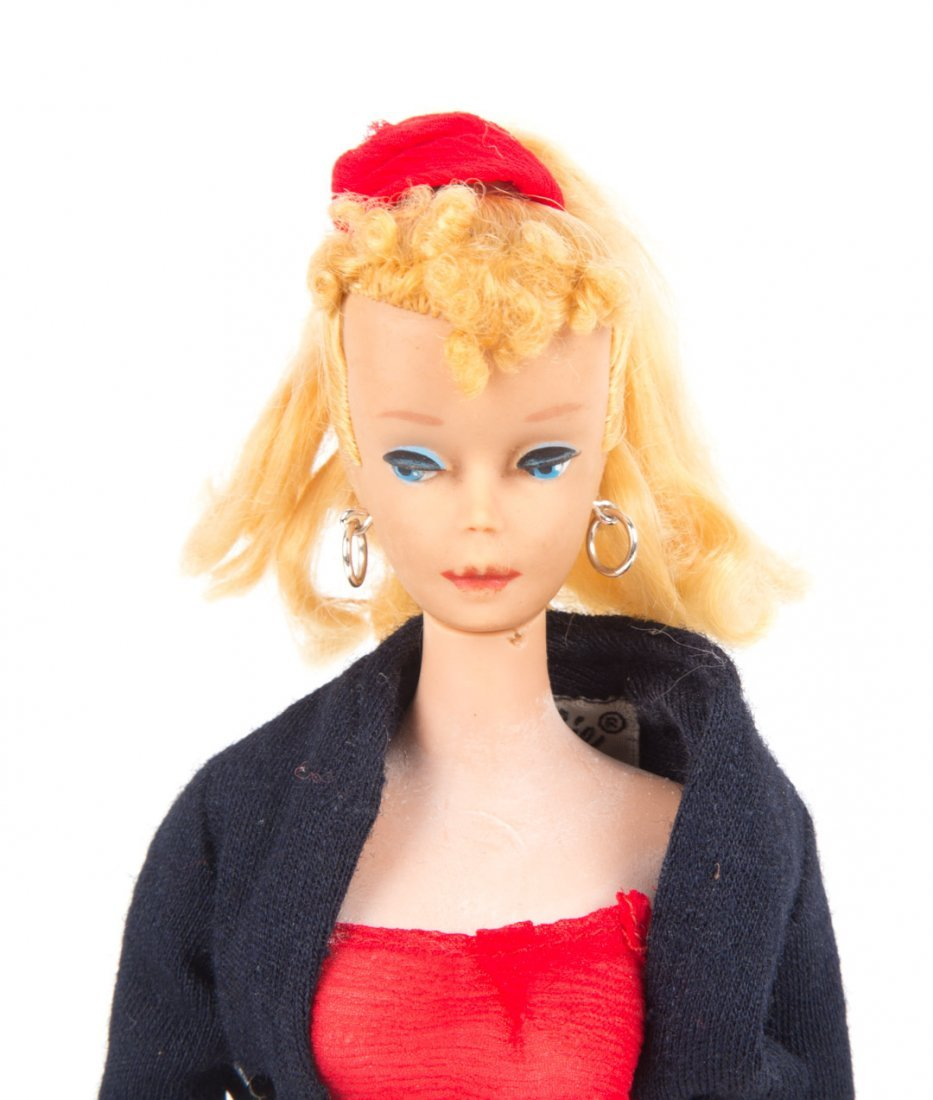 Mattel first year Barbie doll and accessories - 5