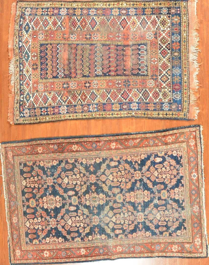 Two antique Persian rugs, Persia, circa 1930