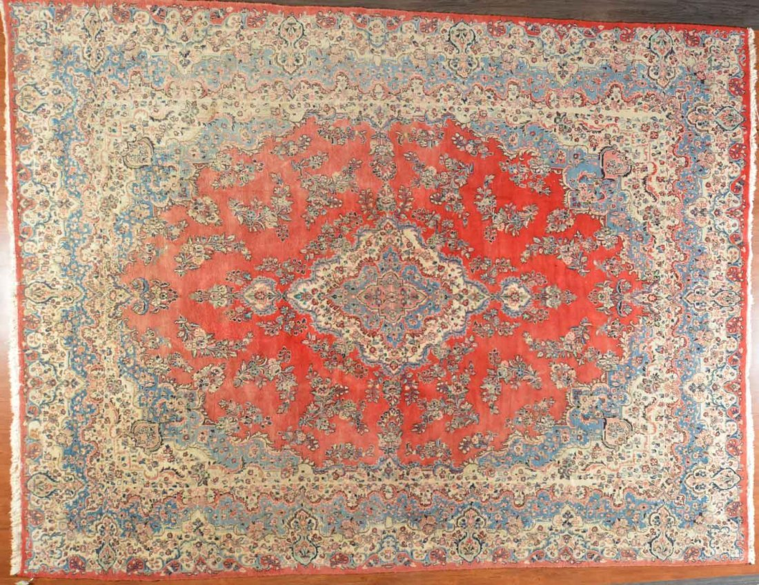 Persian Kazvin carpet, approx. 11.7 x 15.1