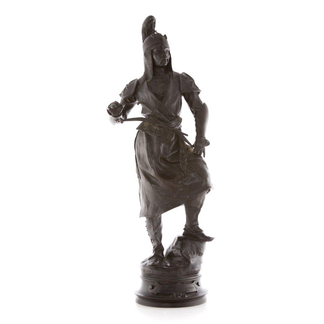 Antoine Louis Bayre. Tartre, Mandchou bronze