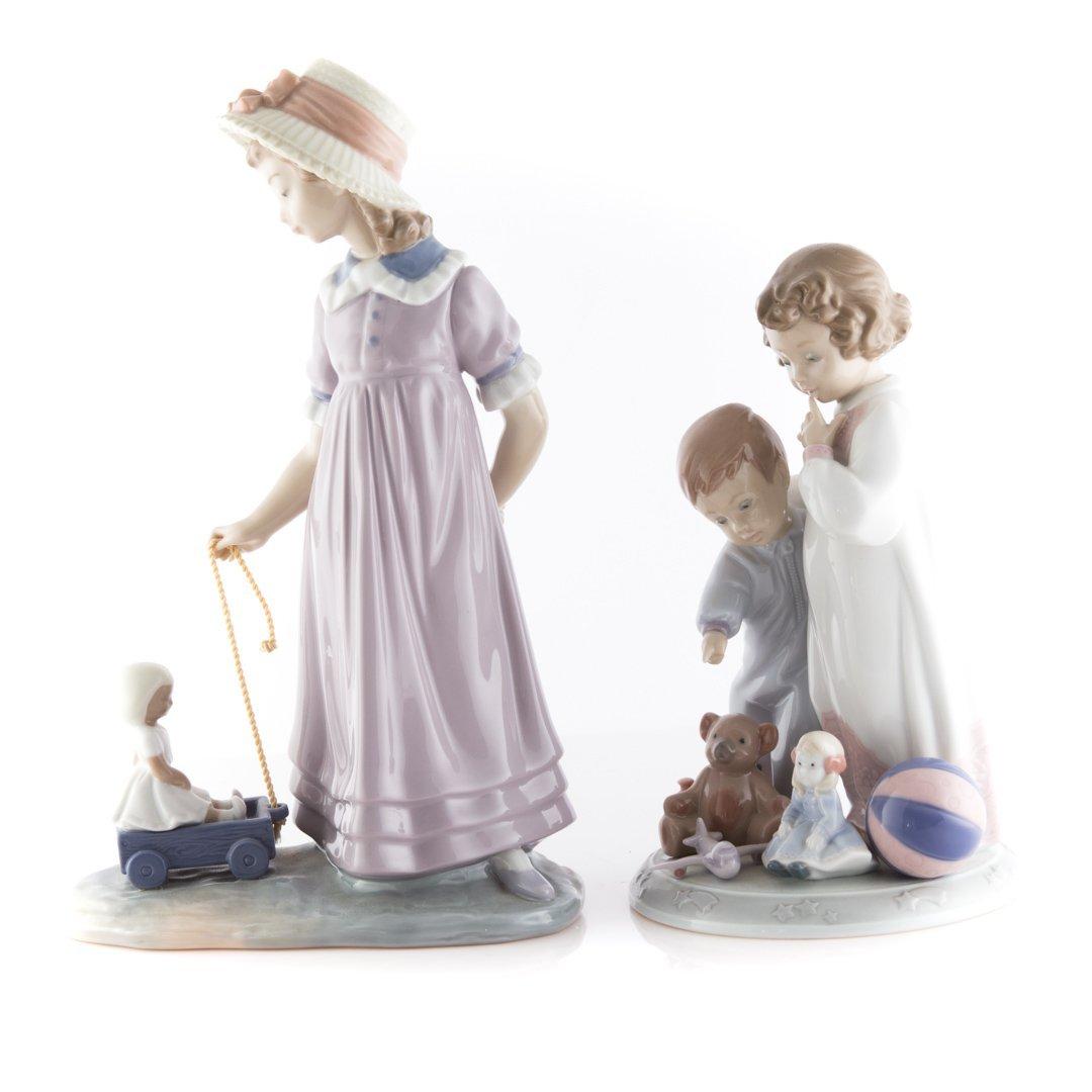 Four Lladro porcelain figures - 2