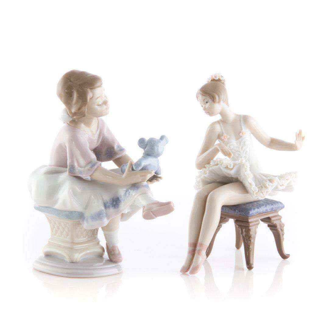 Four Lladro porcelain figures - 3