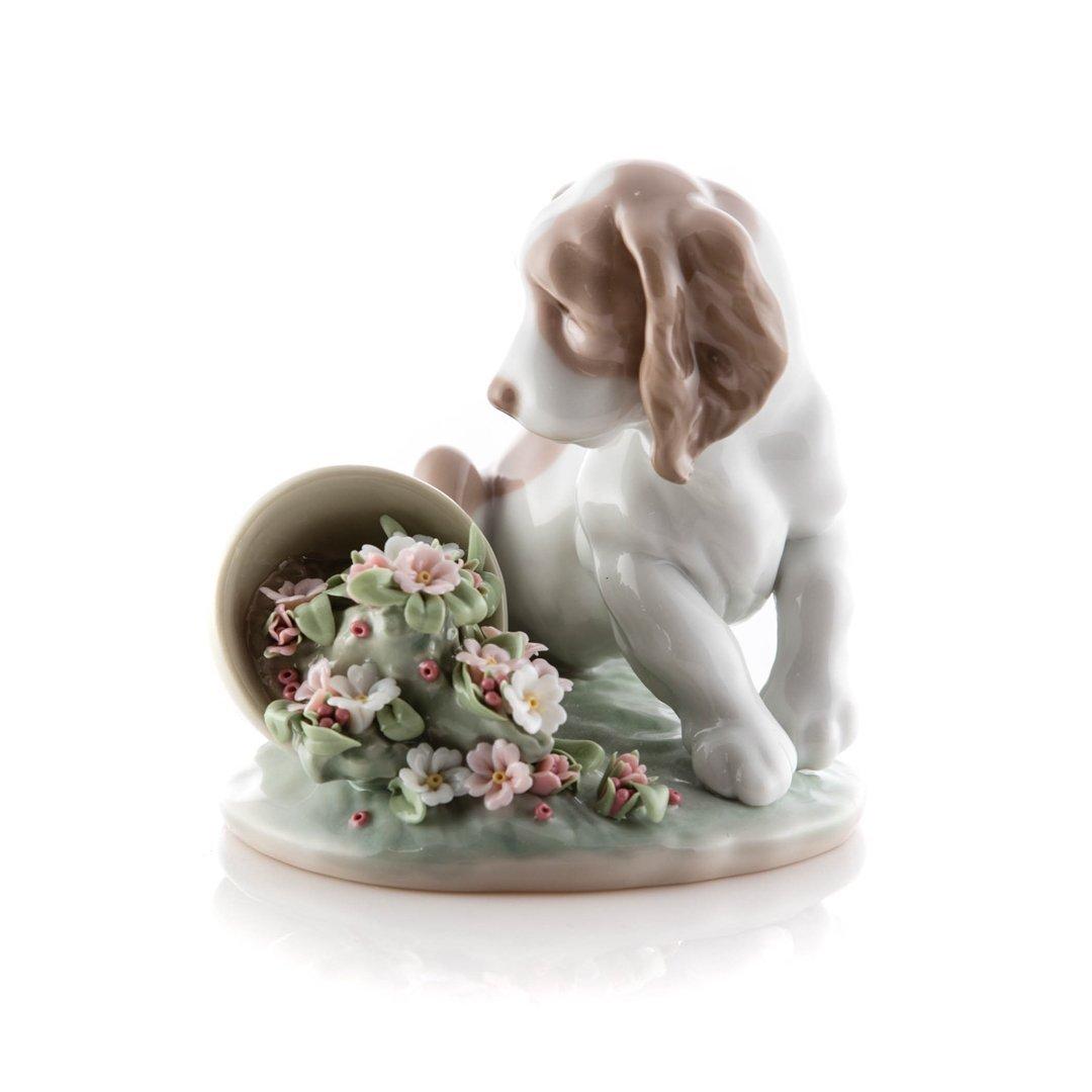 Lladro porcelain figure: It Wasn't Me
