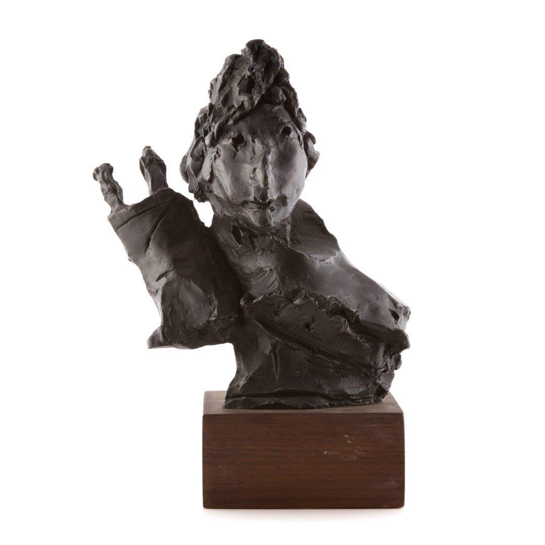 David Aronson Rabbinical Student bronze sculpture