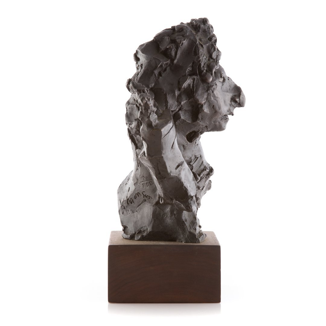David Aronson Rabbinical Student bronze sculpture - 3