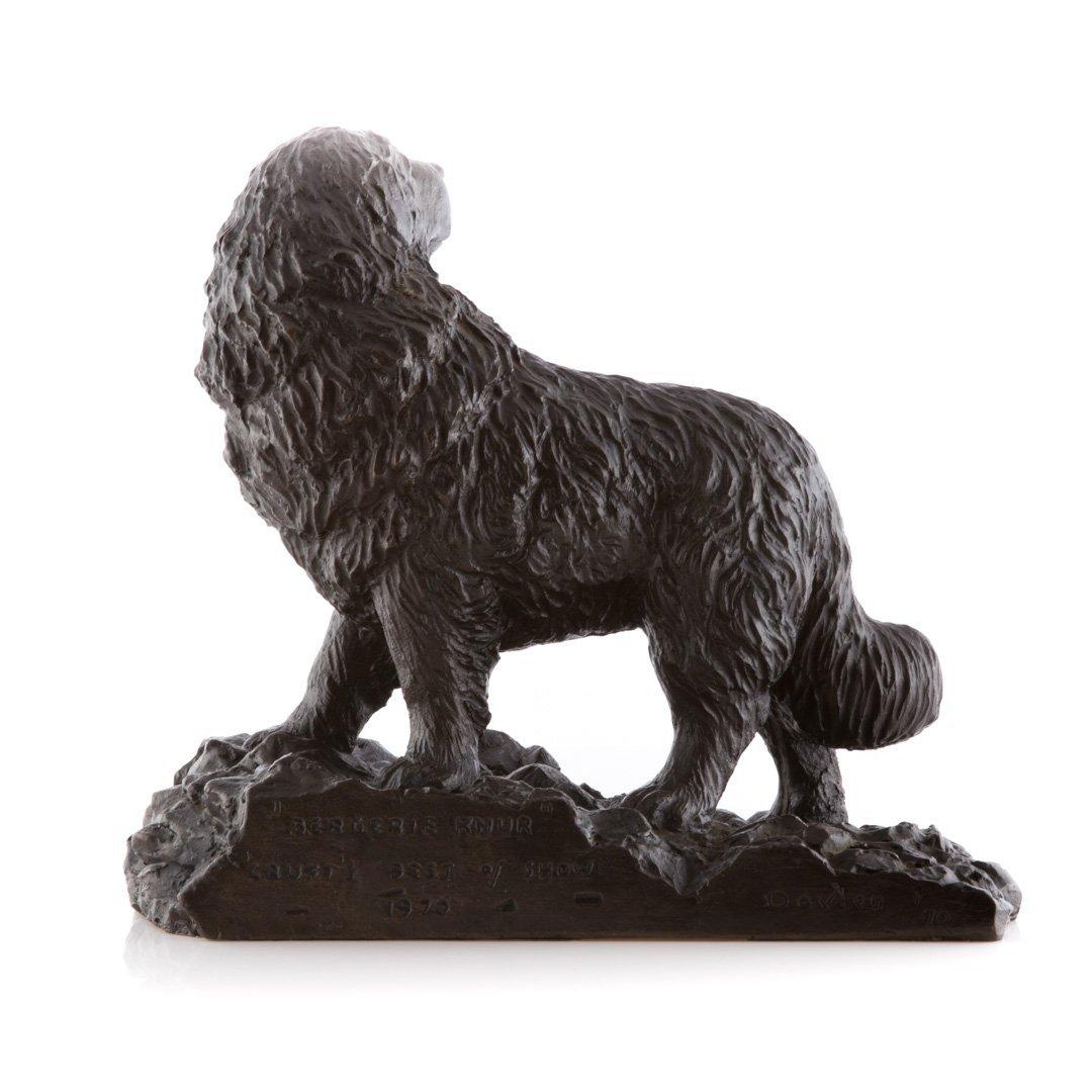 David Aronson Rabbinical Student bronze sculpture - 5