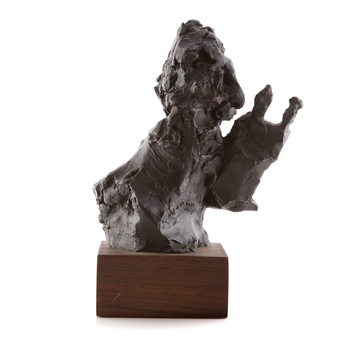 David Aronson Rabbinical Student bronze sculpture - 6