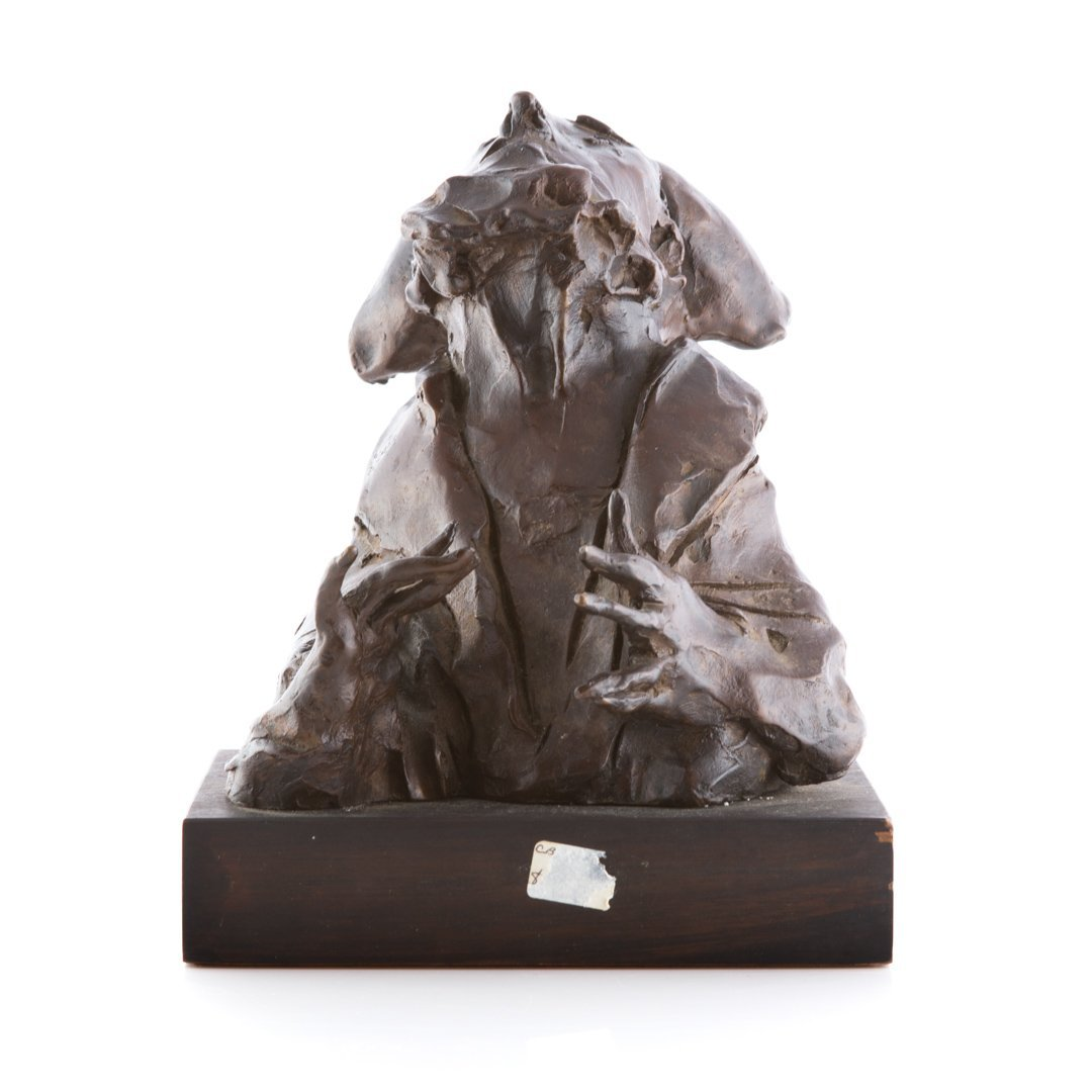 David Aronson Rabbi bronze