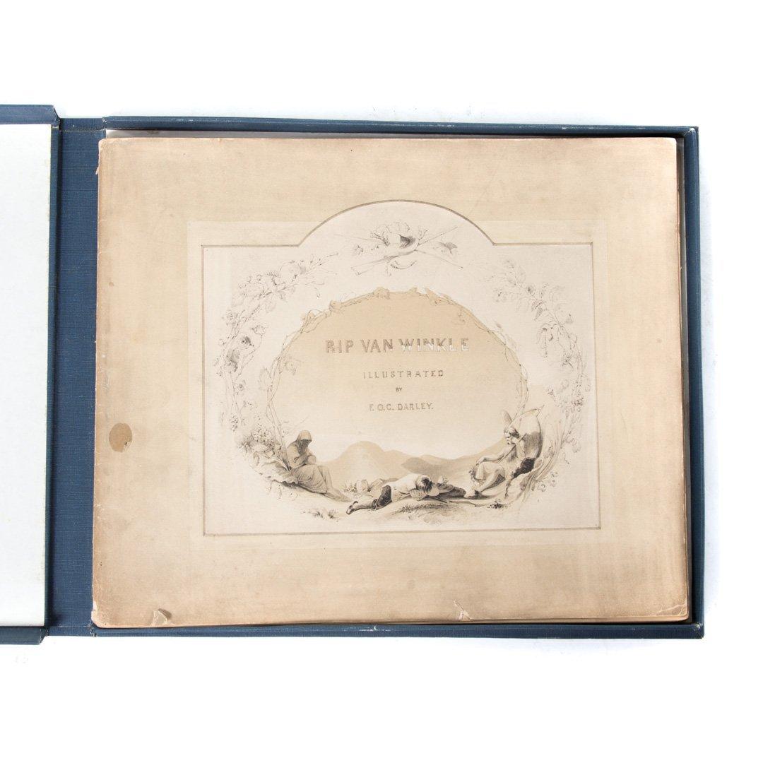 Darley. Illustrations of Rip Van Winkle, 1848