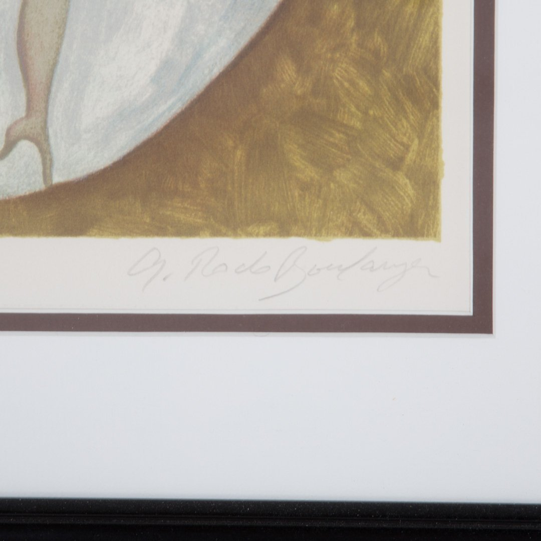 Graciela Rodo Boulanger. Pair of framed lithos - 4