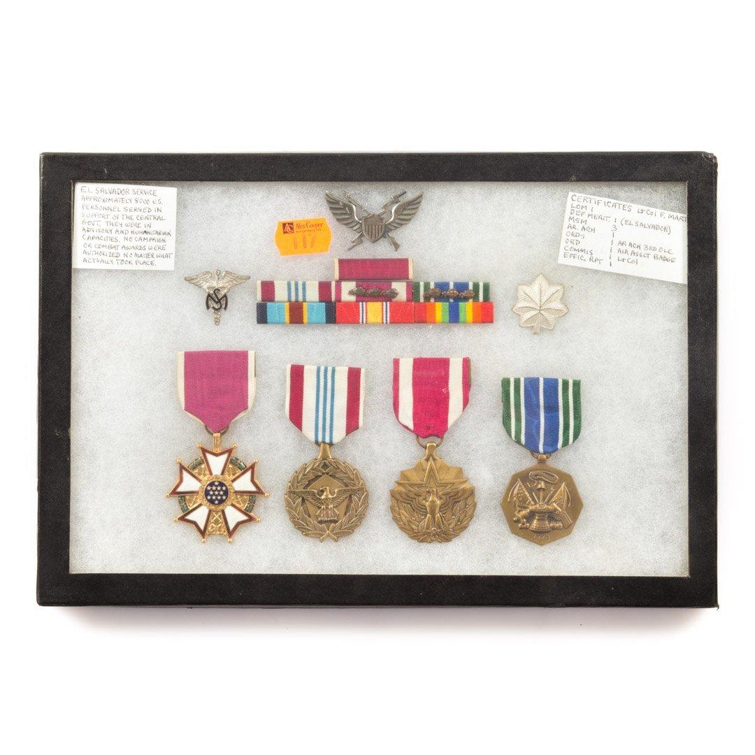 Assortment of US medals