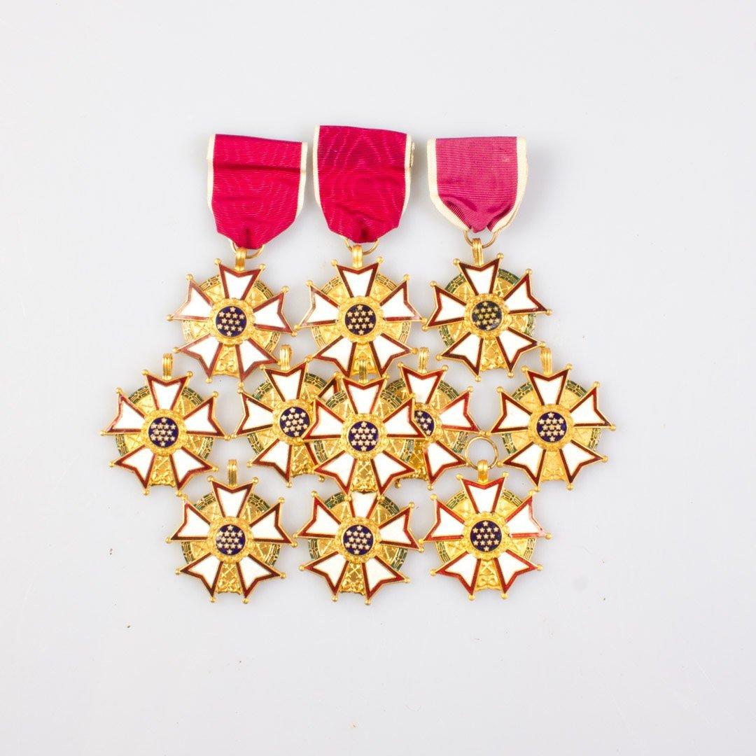 Eleven Legion of Merit medals