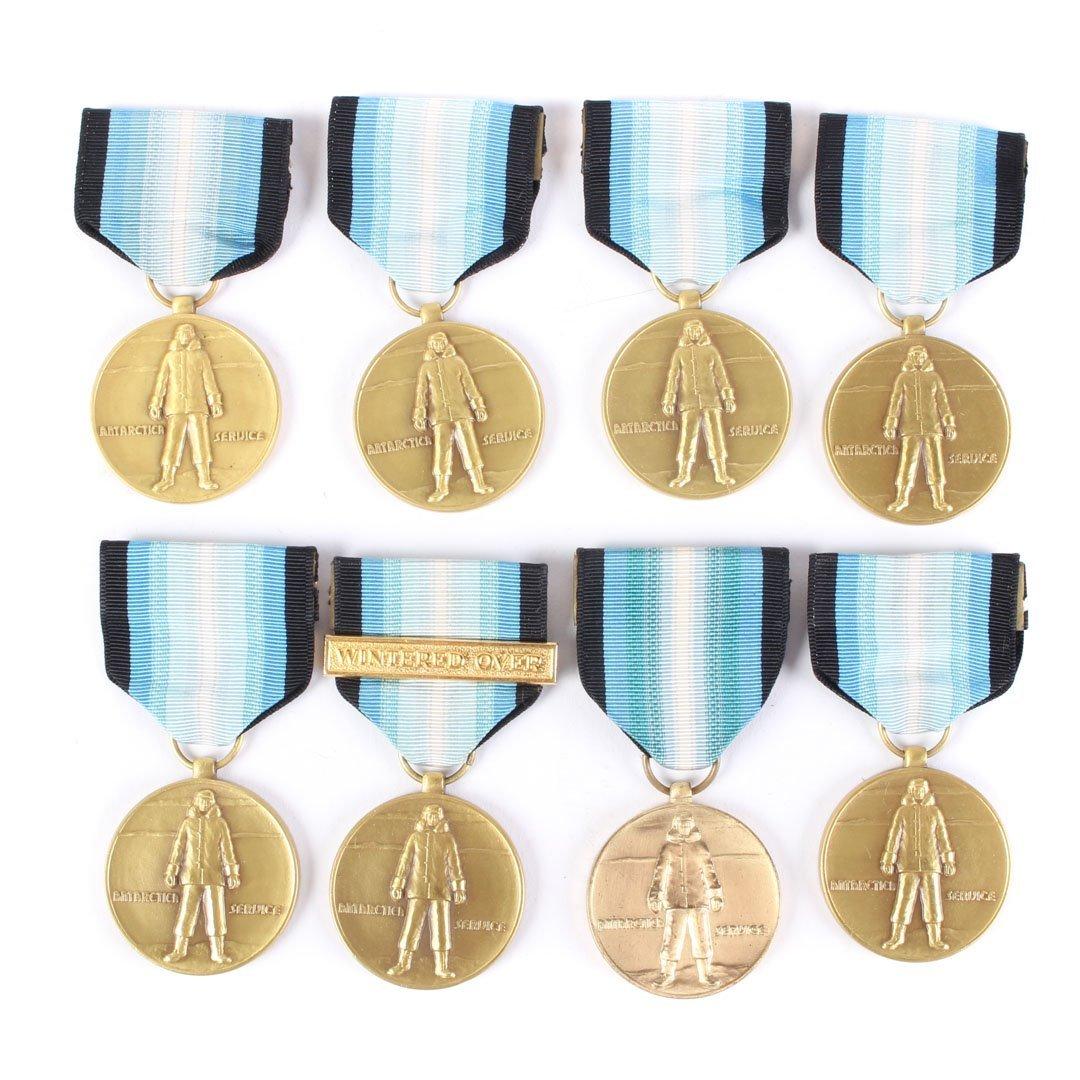 Assortment of Antarctic Service medals