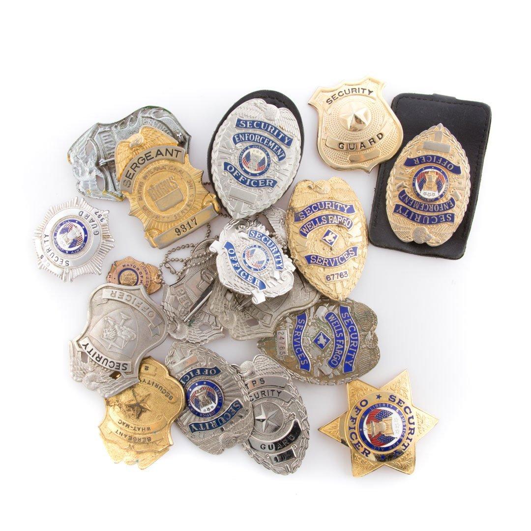 Badges, Security, Etc,