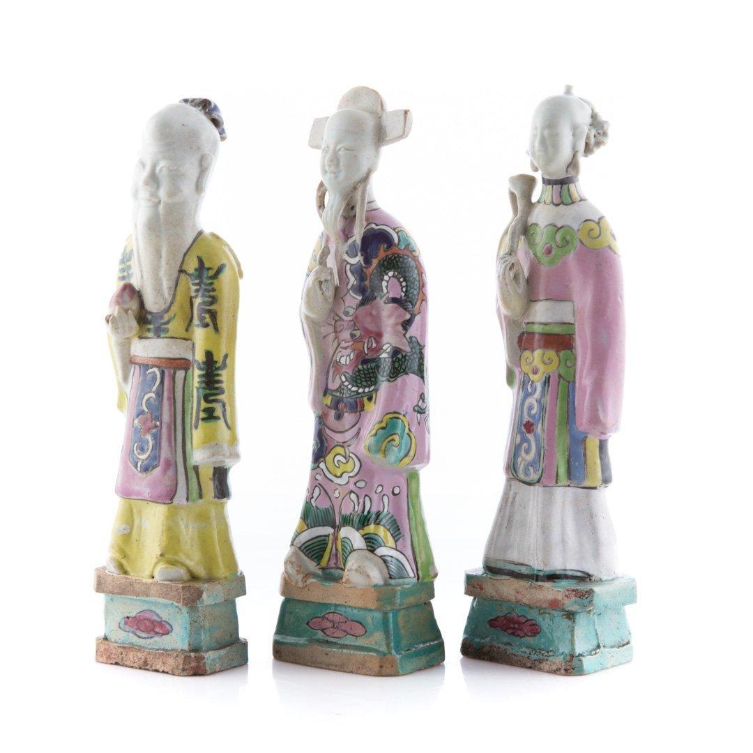 Seven Chinese Export porcelain Immortals - 2