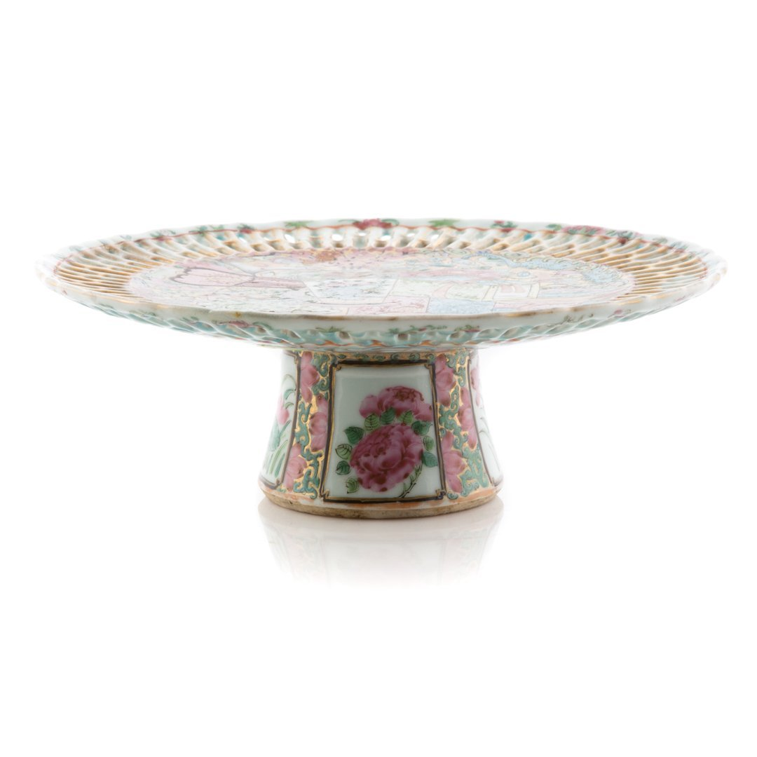 Chinese Export Famille Rose compote