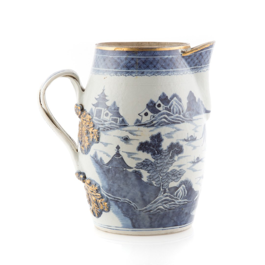 Chinese Export Nanking porcelain flagon