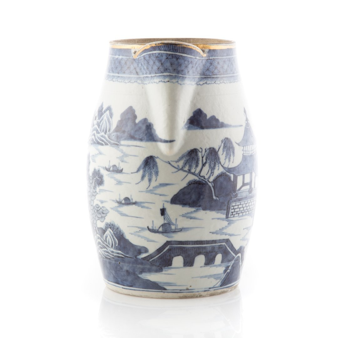 Chinese Export Nanking porcelain flagon - 2