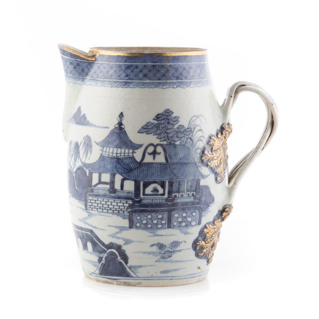 Chinese Export Nanking porcelain flagon - 3