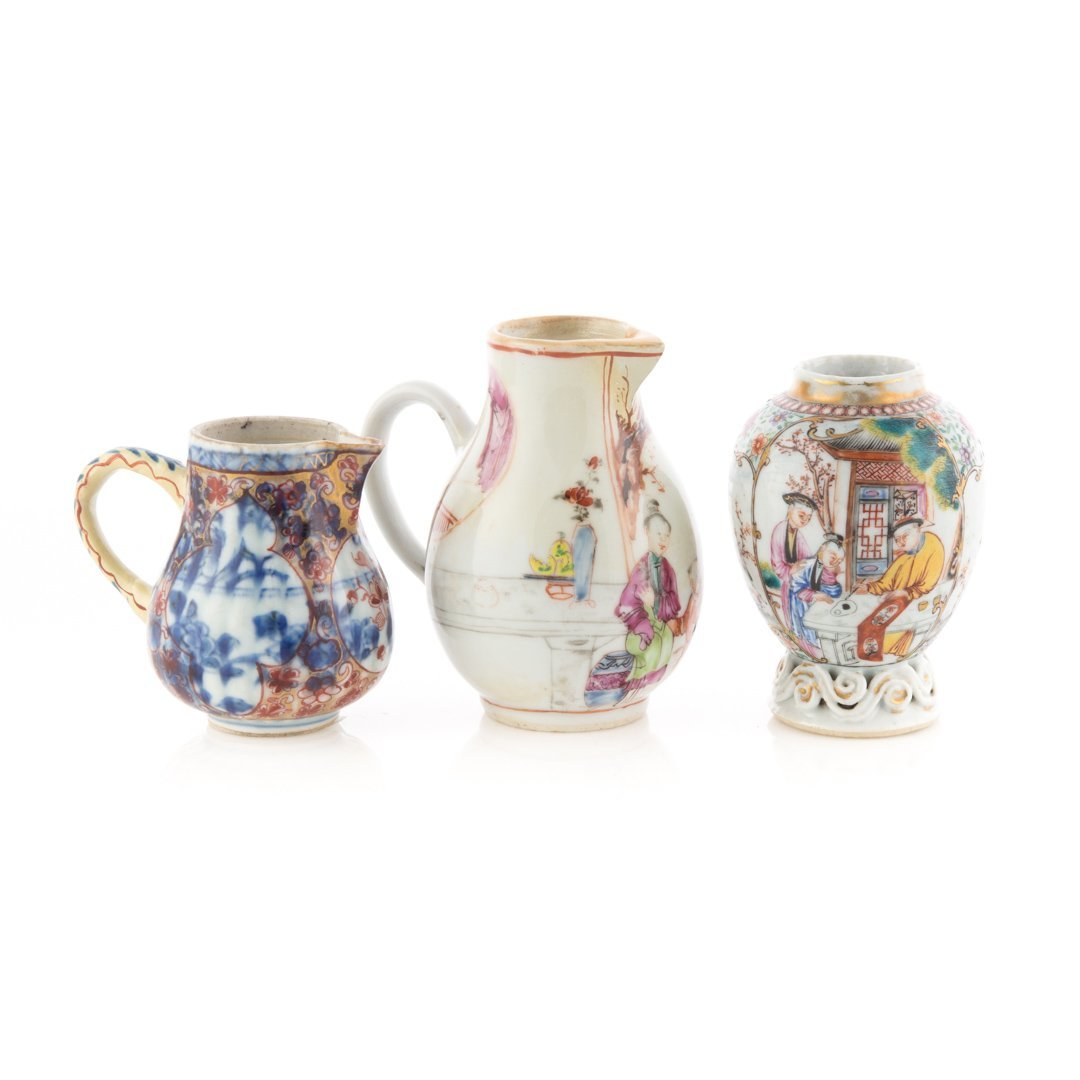 Three Chinese Export Mandarin tea articles