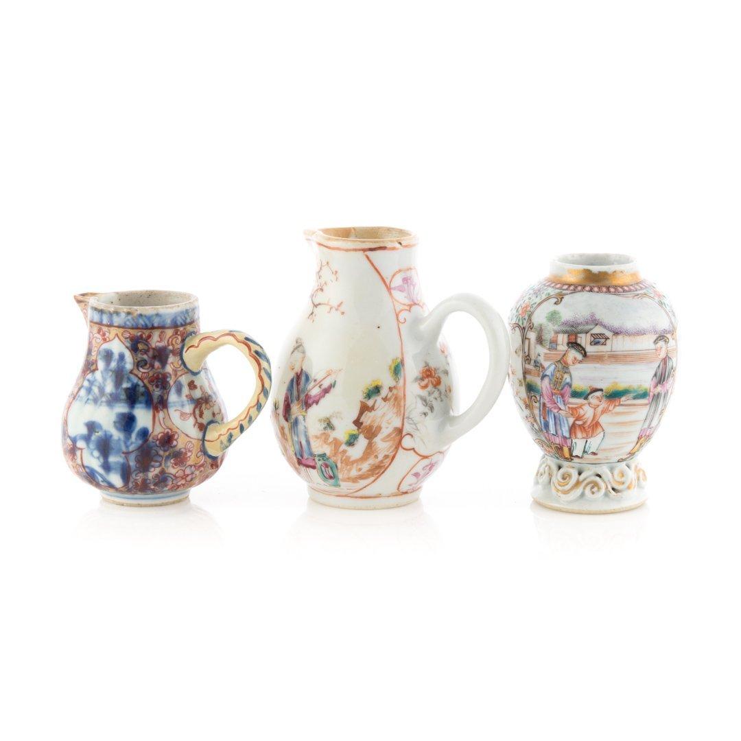 Three Chinese Export Mandarin tea articles - 2