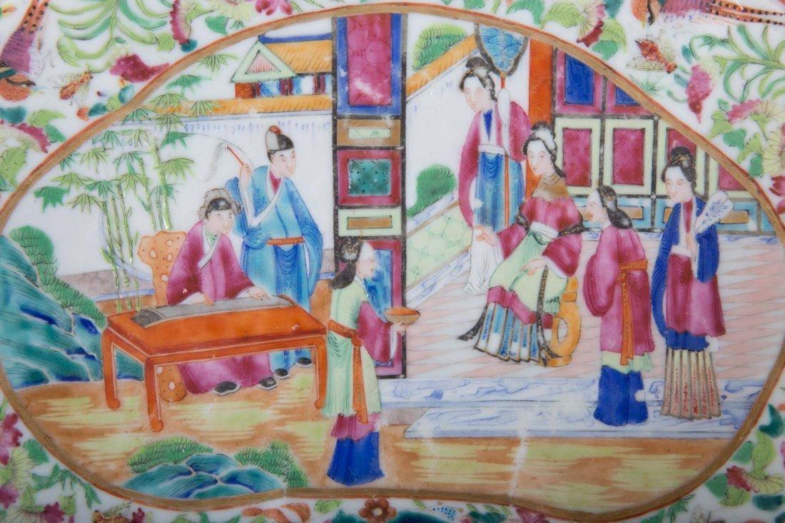 Two Rose Mandarin porcelain articles - 4
