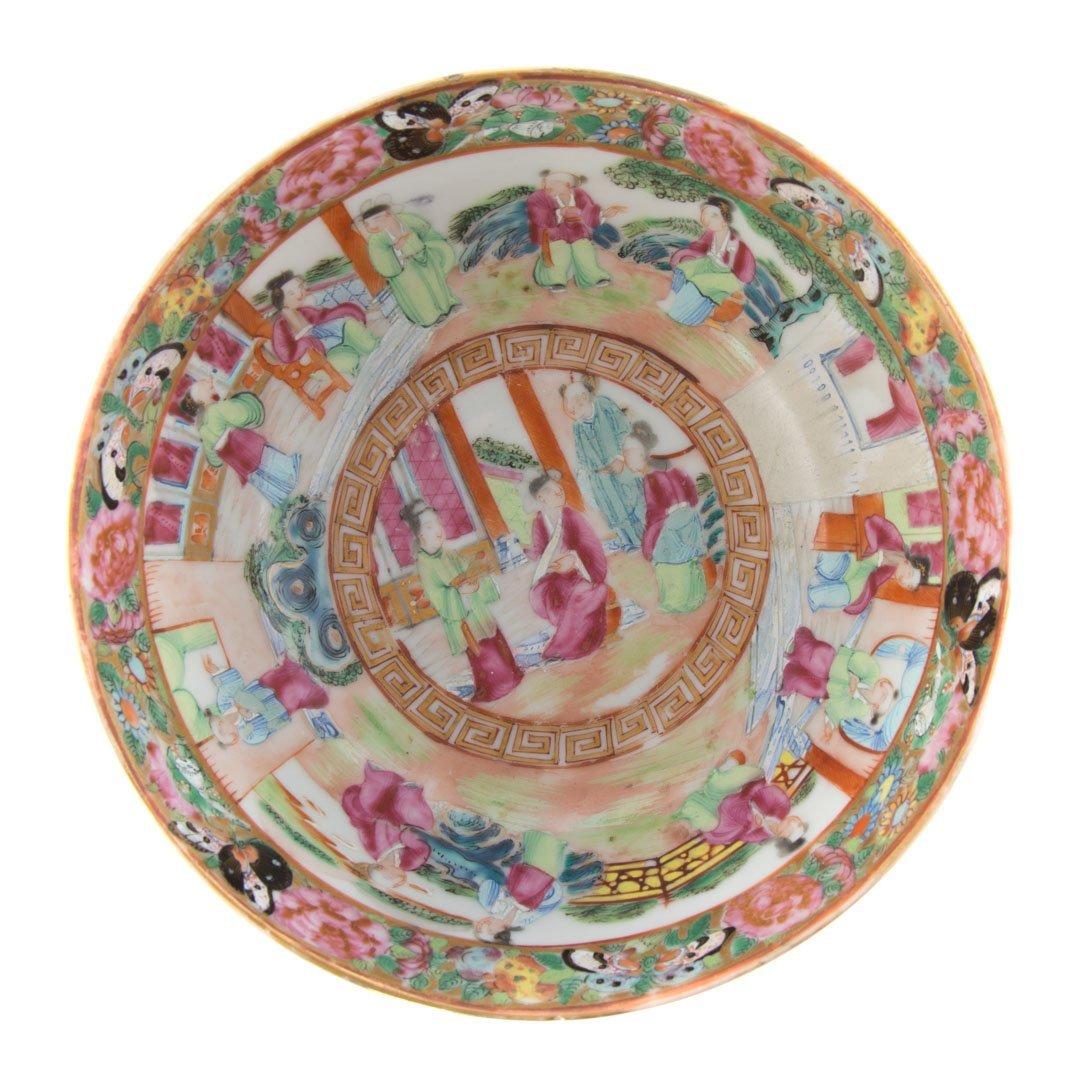 Two Rose Mandarin porcelain articles - 6