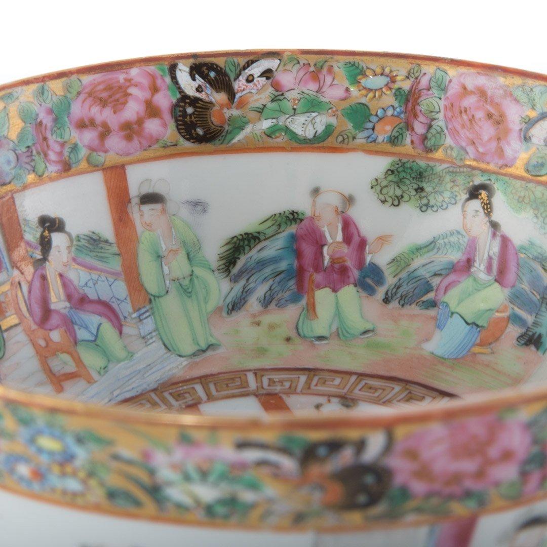 Two Rose Mandarin porcelain articles - 7