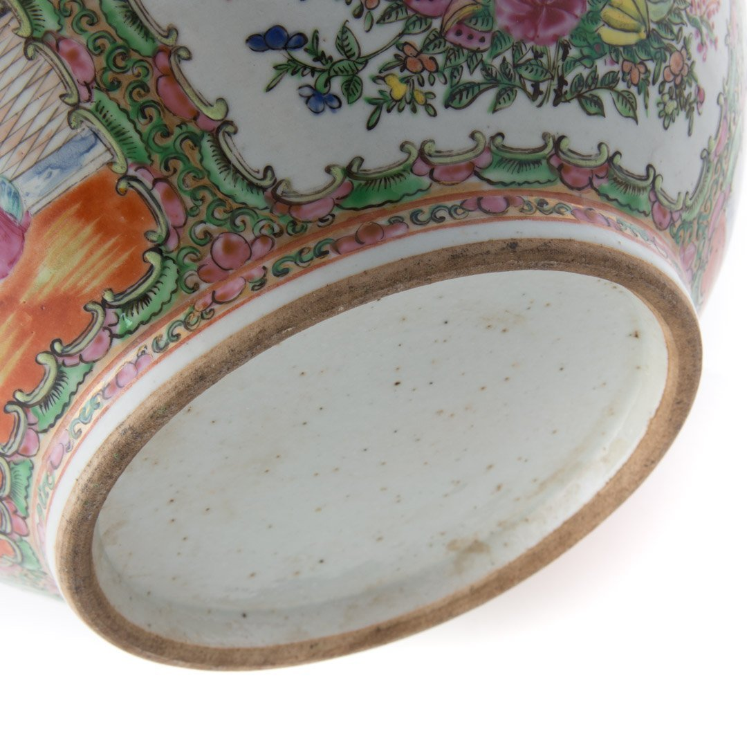 Chinese Export Rose Medallion bowl - 6