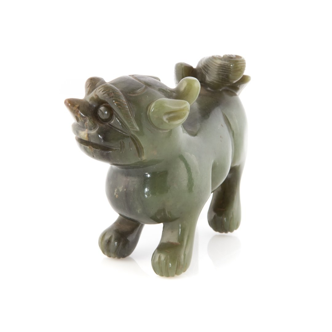 Four Chinese carved jade figures - 4