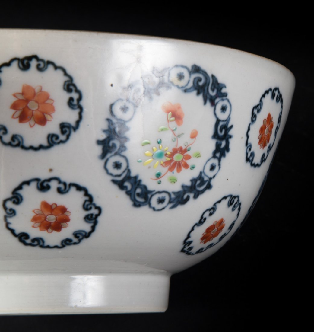 Chinese Export Famille Rose footed bowl - 3