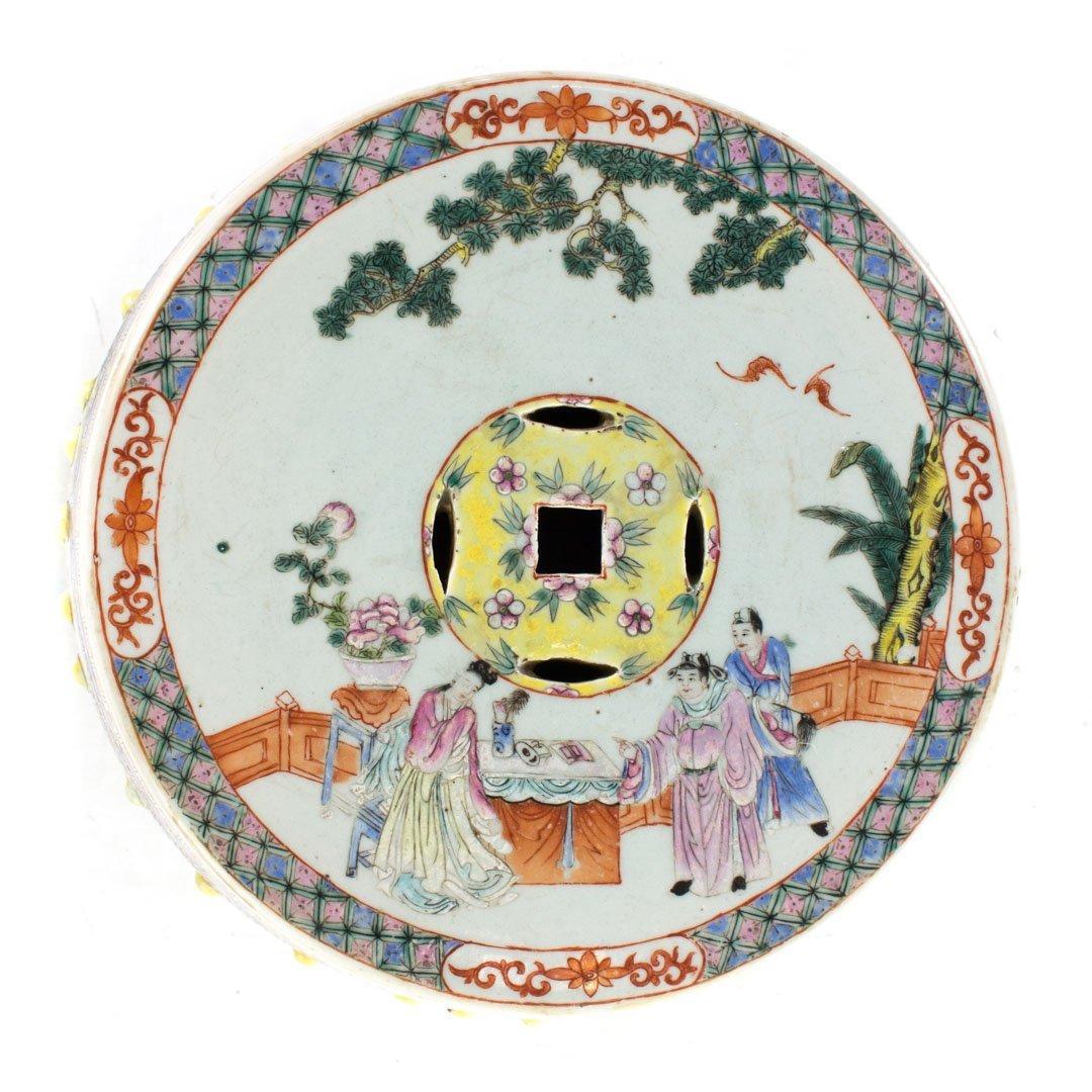 Chinese Export porcelain garden seat - 3