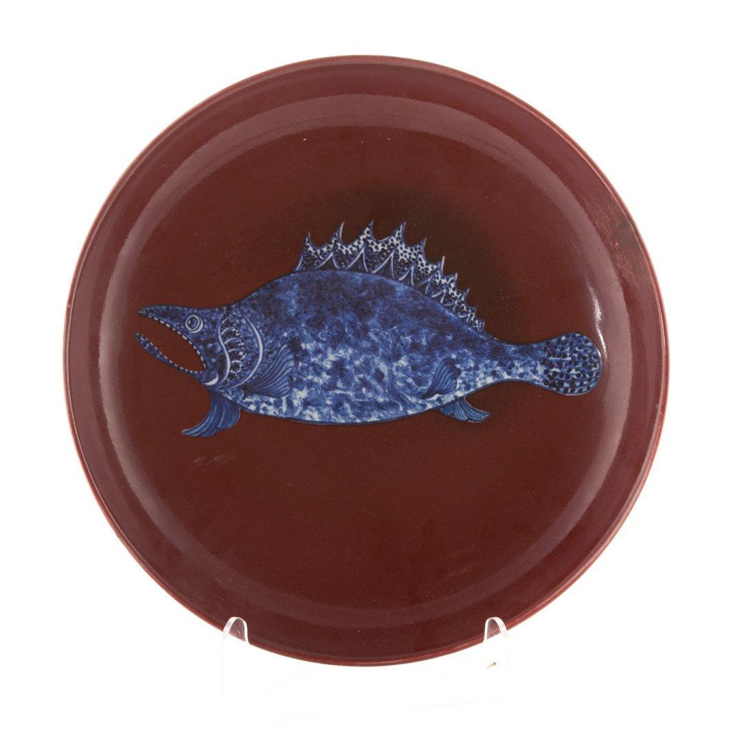 Chinese sang de boeuf porcelain bowl